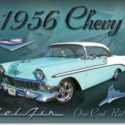1956 Chevy Metal SIgn