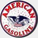 American Gas Porcelain Sign