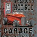 American Hot Rod Garage Sign