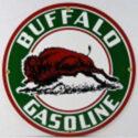 Buffalo Gas Porcelain Sign