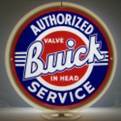 Buick Service Gas Pump Globe