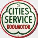 Cities Service Porcelain Sign