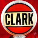 Clark Gas Pump Globe
