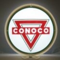 Conoco Triangle Gas Pump Globe