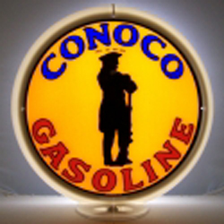 Conoco Gas Pump Globe