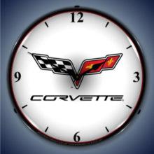 Corvette Backlit Clock