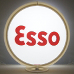Esso Gas Pump Globe