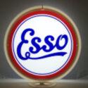 Esso Script Gas Pump Globe