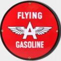 Flying A Porcelain Sign
