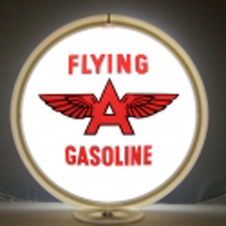 Flying A Gas Pump Globe