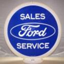 Ford Gas Pump Globe