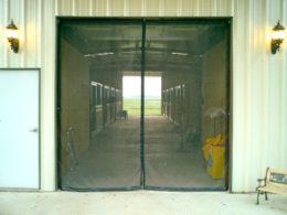 Garage Door Screen - One Zipper