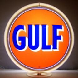 Gulf Gas Pump Globe