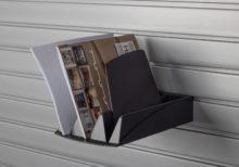 HandiWall Folder Tray Black