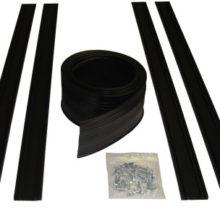 Garage Door Bottom Seal Track - 8 to 9