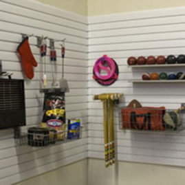 Storewall Panel Garage Organization