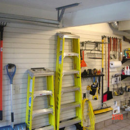 Slatwall Panel Tool Organization
