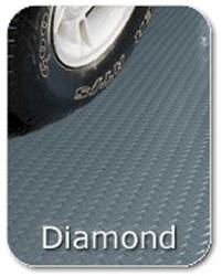 Diamond Tread Roll Flooring - 10 x 24