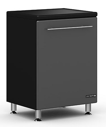 Ulti MATE Graphite 1 Door Base Cabinet