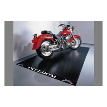 Motorcycle Mat - Heavy Duty Ribbed Vinyl