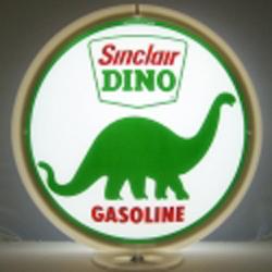 Dino Gas Pump Globe