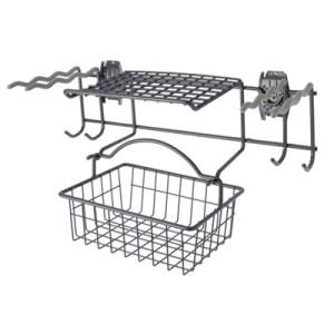 Slatwall Garden Rack And Basket
