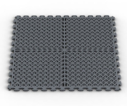 Ventilated Drain Flooring Tiles