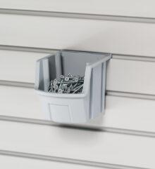Gray Utility Bin