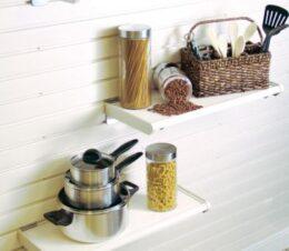 HandiWall Resin Shelf with Accessories