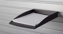 HandiWall Letter Size Paper Tray Black