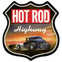 Hot Rod Highway Metal Sign