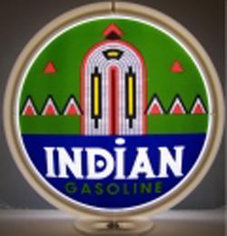 Indian Gas Pump Globe