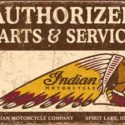 Indian Cycles Service Sign