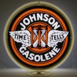 Johnson Gasolene Globe