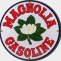 Magnolia Gas Porcelain Sign