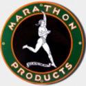 Marathon Porcelain Sign