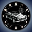 Mercedes Backlit Clock
