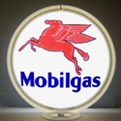 Mobilgas Gas Pump Globe