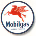 Mobilgas Pegasus Sign