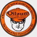 Oilzum Porcelain Sign