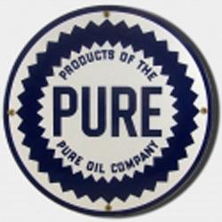 Pure Porcelain Sign