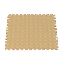 Raised Coin Interlocking Floor Tiles