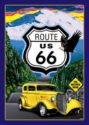 Route 66 Mother Road Sign