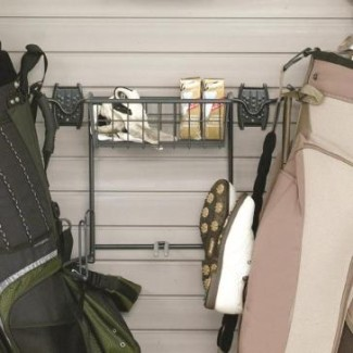 Schulte Golf Rack & Basket