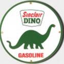 Sinclair Dino Porcelain Sign