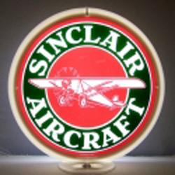 Sinclair Aircraft Gas Pump Globe