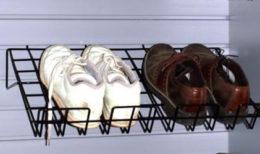 Sloping Shoe Shelf