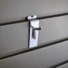 Steel SIngle Hook - 1 inch - chrome