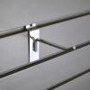 Steel single Hook - 4 inch - chrome