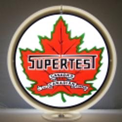 Supertest Gas Pump Globe